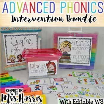 Phonics Intervention Pack for Independent Readers - Higher Phonics