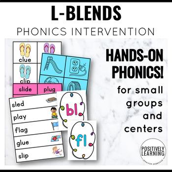 Phonics Intervention Games Initial L Blends Flip Flops