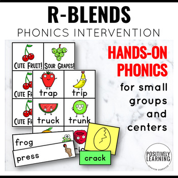 Phonics Intervention Games Initial R Blends