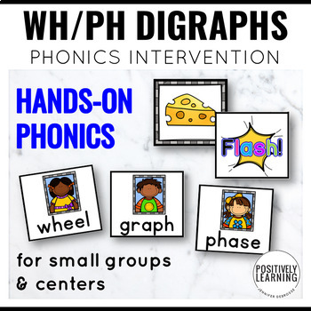 Phonics Intervention Games WH and PH Digraphs
