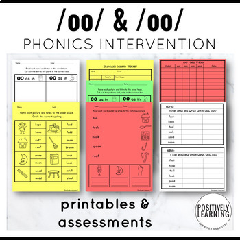 Phonics Intervention Games oo/oo Cool Boots