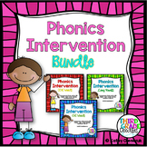 Phonics Intervention -- MEGA BUNDLE