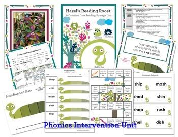 Phonics Intervention MEGA Bundle {One Syllable and Multisyllabic Words}