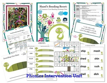 Phonics Intervention MEGA Bundle {One Syllable and Multisyllabic Words}