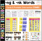Phonics Intervention Pack: -ng and -nk words