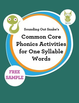 Phonics Intervention for One Syllable Words {FREE}