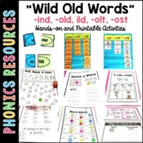 Phonics Intervention: -old, -ost, -old, -ild, -ind units
