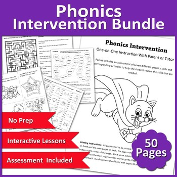 Phonics Intervention with Assessment