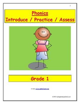 Phonics: Introduce/Practice/Assess - Grade 1