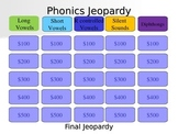 Phonics Jeopardy Game