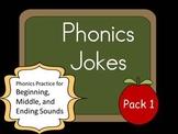 Phonics Jokes 10 Pack (Set 1)