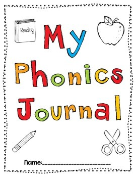 Phonics Journal Cover and Anchor Chart