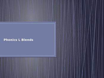 Phonics L Blends