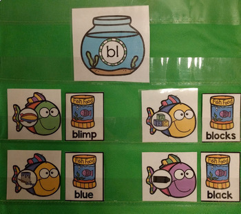 Phonics L-Blends Activity Center