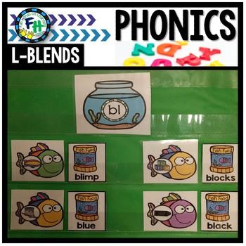 Phonics L-Blends Activity Match