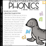Phonics - L blends with short vowels - Reading Foundation