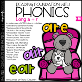 Phonics - LONG A+R - Reading Foundational Skills with Phonics (AIR, ARE, EAR)