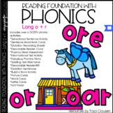Phonics - LONG O + R - Reading Foundation with Phonics (oa