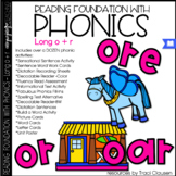 Phonics - LONG O + R - Reading Foundational Skills (oar, ore, or)