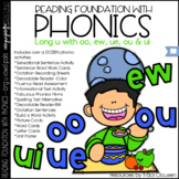 Phonics - LONG U vowel pairs - Reading Foundation with Phonics