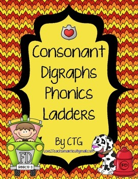 Phonics Ladders - Consonant Digraphs