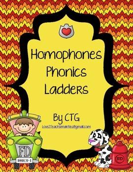 Phonics Ladders - Homophones