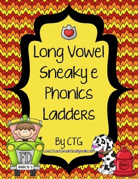 Phonics Ladders - Long Vowel Sneaky E
