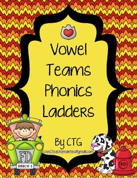 Phonics Ladders - Vowel Teams