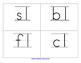Large Phonics Handwriting Pocket Chart Cards
