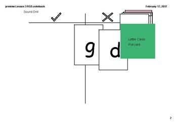 Phonics Lesson 3- g, r, d