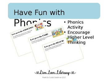 Have Fun with Phonics
