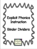Phonics Lesson Binder Organization
