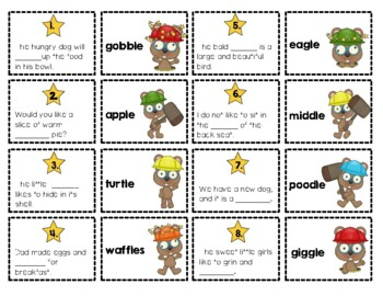 Phonics Lesson Enhancers: Set 2