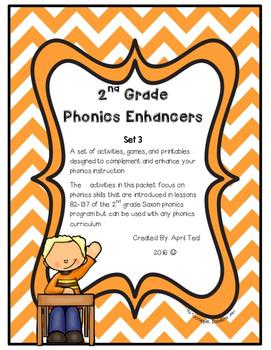 Phonics Lesson Enhancers Set 3