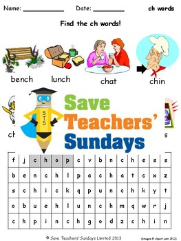 Phonics Lesson Plans, Worksheets & Other Teaching Resources (Part One - 19 sets)