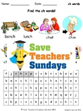 Phonics Lesson Plans, Worksheets & Other Teaching Resources (Part Two - 20 sets)