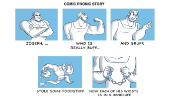 A COMIC PHONIC READING AND WRITING MINI-LESSON