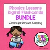 Phonics Lessons - Digital Flashcards BUNDLE!