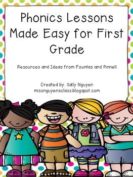 Phonics Lessons Made Easy for First Grade
