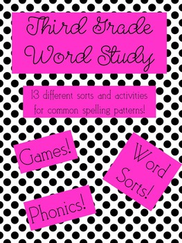Phonics Lessons: Word Sorts, Games, and Activities