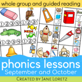 Phonics Lessons for whole group or guided reading (Septemb