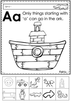 Phonics Let's Look at the Letter and Sounds for Aa