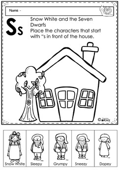 Phonics Let's Look at the Letter and Sounds for Ss
