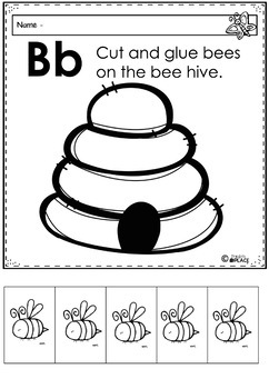 Phonics Let's Look at the Letter and Sounds for Bb
