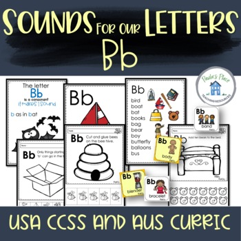 Phonics - Let's Look at the Letter and Sounds for  'Bb'