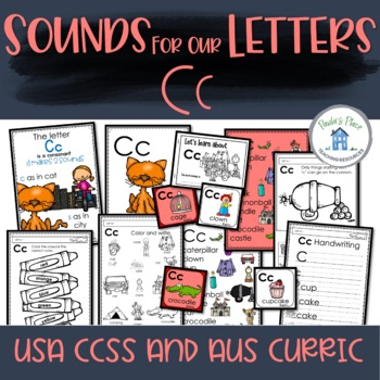 Phonics - Let's Look at the Letter and Sounds for  'Cc'
