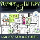 Phonics Let's Look at the Letter and Sounds for Gg