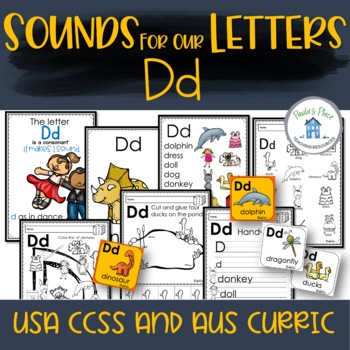 Phonics - Let's Look at the Letter and Sounds for  'Dd'