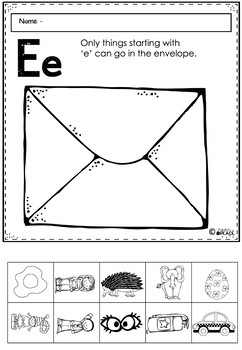 Phonics - Let's Look at the Letter and Sounds for  'Ee'