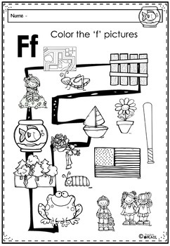 Phonics - Let's Look at the Letter and Sounds for  'Ff'